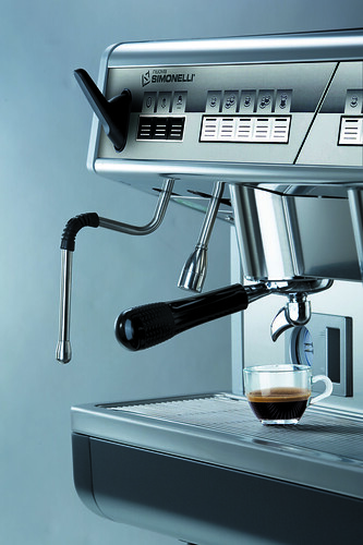 Appia espresso coffee machine - low group by NuovaSimonelli