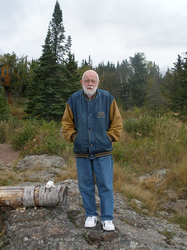 Dad by Lake Superior