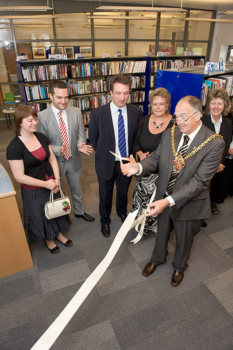 Wednesfield Community Library - Official Opening
