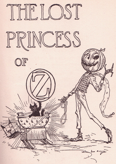 Title Page ~ The Lost Princess of Oz