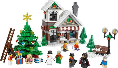 10199 Winter Toy Shop