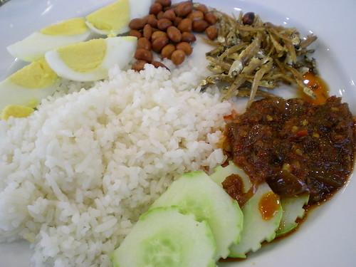 360 Hotel Kuching - nasi lemak