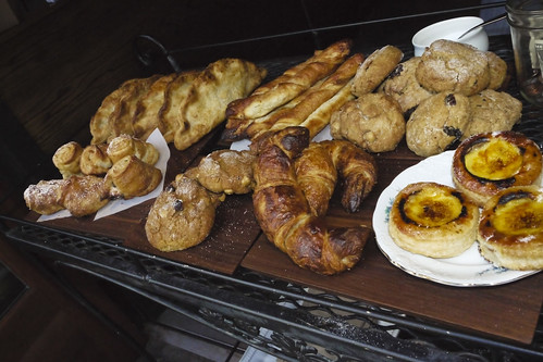 assortment of breakfast pastries at Knead Patisserie, 24th Street, SF
