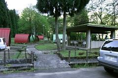麻那姫湖青少年旅行村 バンガロー