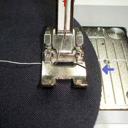 good with presser foot