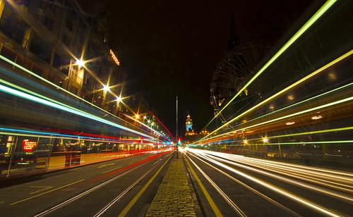 Princes Street Light Trails - Explored, FP