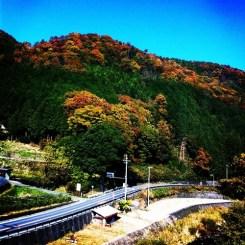 名古屋に向かう近鉄特急から