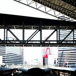 JR大阪駅からの眺め