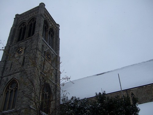 St Faiths Church - Snow Covered Church