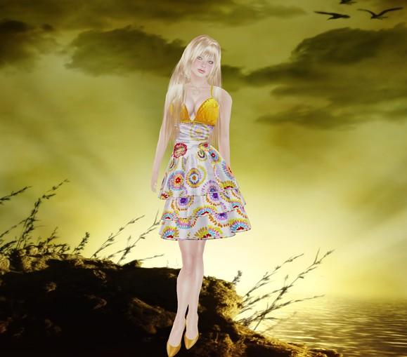 Alafolie hunt dress