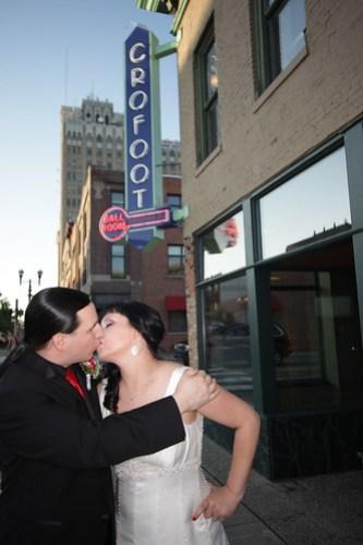 Newlyweds! Photo by Michael Raffin