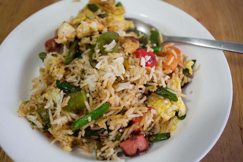 Leftover BBQ Fried Rice