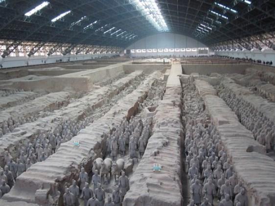 terracotta warriors pit 1