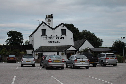 The Leigh Arms public house, Little Leigh