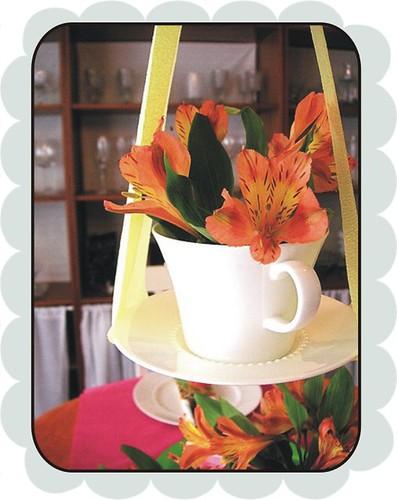 hanging tea cup