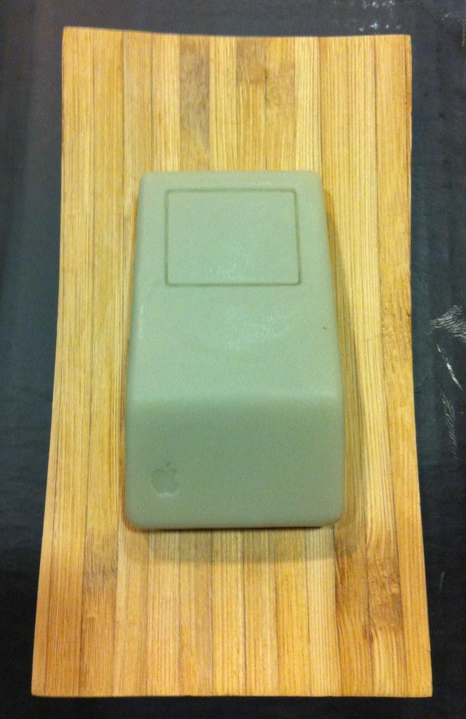 Apple mouse soap
