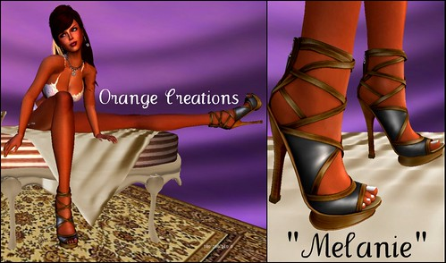 BLOG:  Shoe Fair Post #1 - Orange Creations