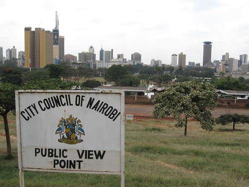 Downtown Nairobi