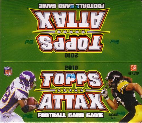 2010 Topps Attax box