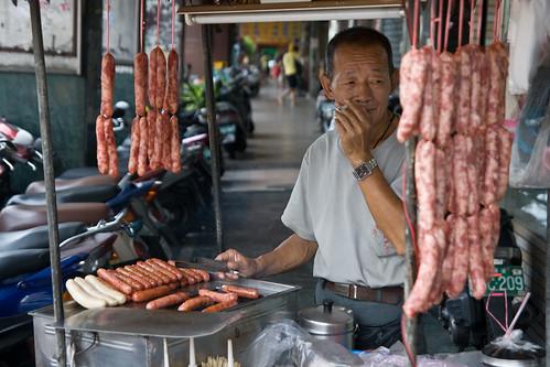 Smoking and sausages