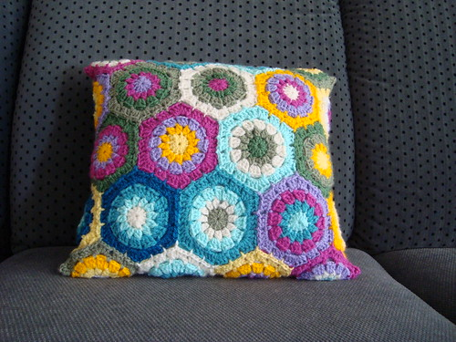 Finished pillow - Side 1