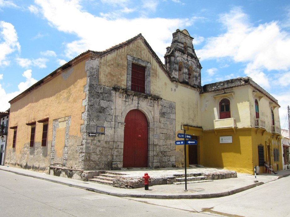 The Church of San Roque in Getsemani.
