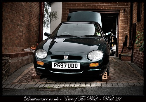 Beastmaster Car of The Week - Week 27 - MGF