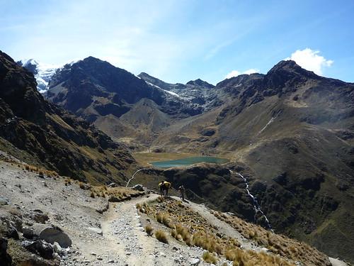 Beginn unserer Anden-Trekkingtour