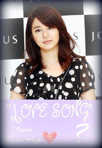 YOON EUN HYE LOVE SONG