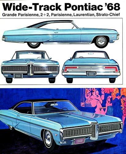 1968 Pontiac Grand Parisienne Sport Coupe (Canada)