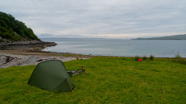 Beach near Mallaig where I camped