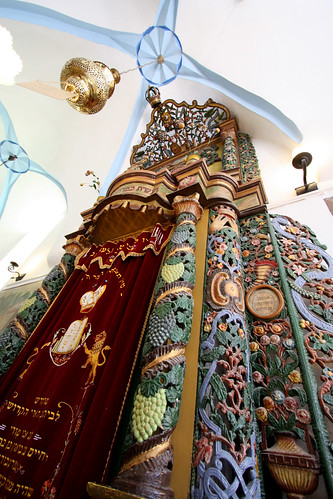 Painted Torah Ark