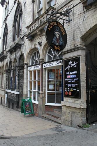 The Artful Dodger pub, York