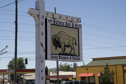 The Buffalo Bar and Grill in Payson, AZ.