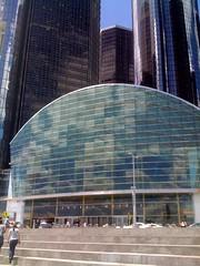 Entering GM world HQ