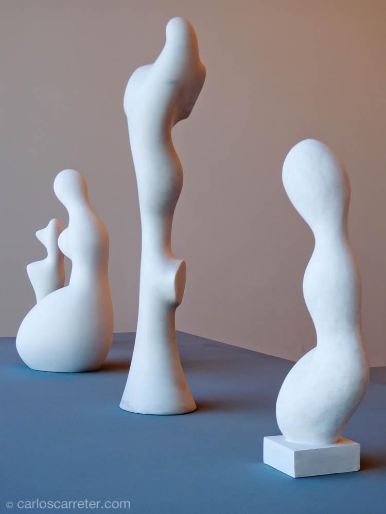Esculturas de Jean Arp (Museo de Arte Moderno y Contemporáneo)
