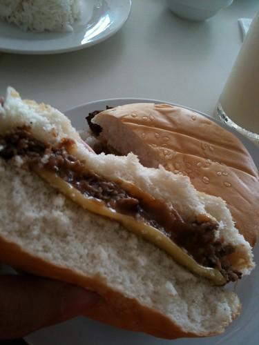 Dayrit's burger
