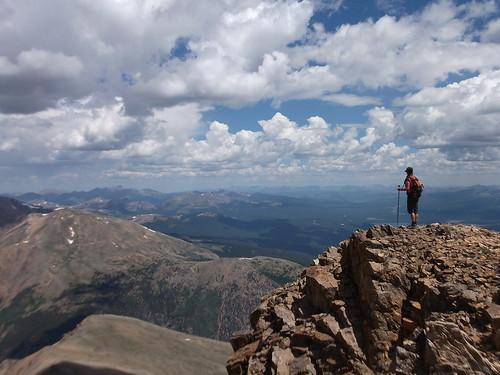 Mt Elbert: 14,433 ft
