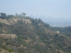 Observatory on a smoggy day