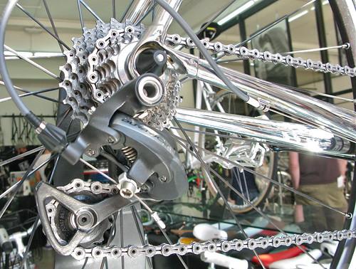 duncan's chrome road bike