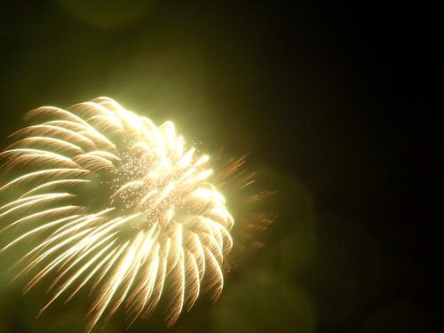 Fireworks in the Rain.