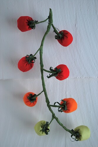 Plush Tomatoes on the Vine