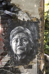 Hillary Clinton painted portrait _DDC9379