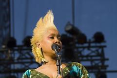 Erykah Badu - Lollapalooza 2010