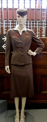 Kansas City Garment District TWA uniform display