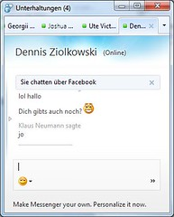 Facebook Chat in Messenger 2011