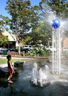 IMG_2601 - ball on top of fountain, Los Gatos - email