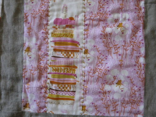 Hand quilting - Princess & the Frog