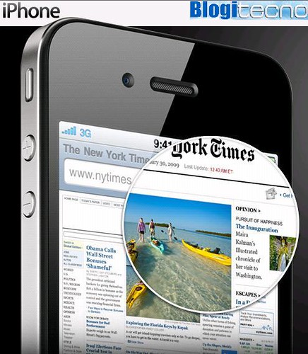 iPhone 4: Nueva version mas compacta y ligera del iPhone