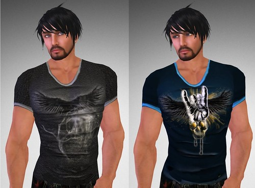 LH Hollow and Metalhand T-shirts